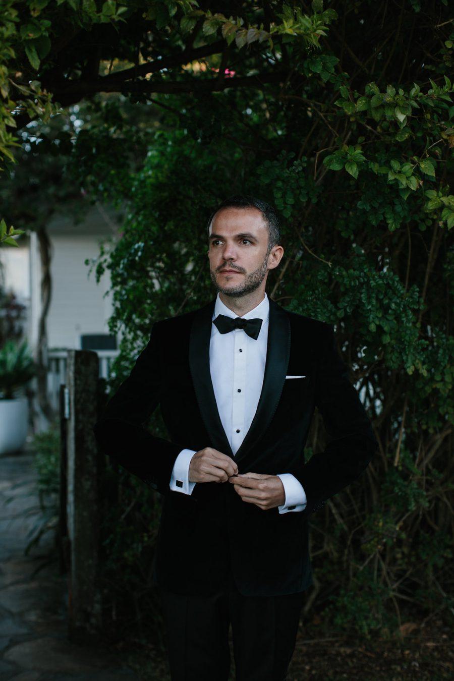 Groom waiting for bride / Elope / Micro Wedding / Byron