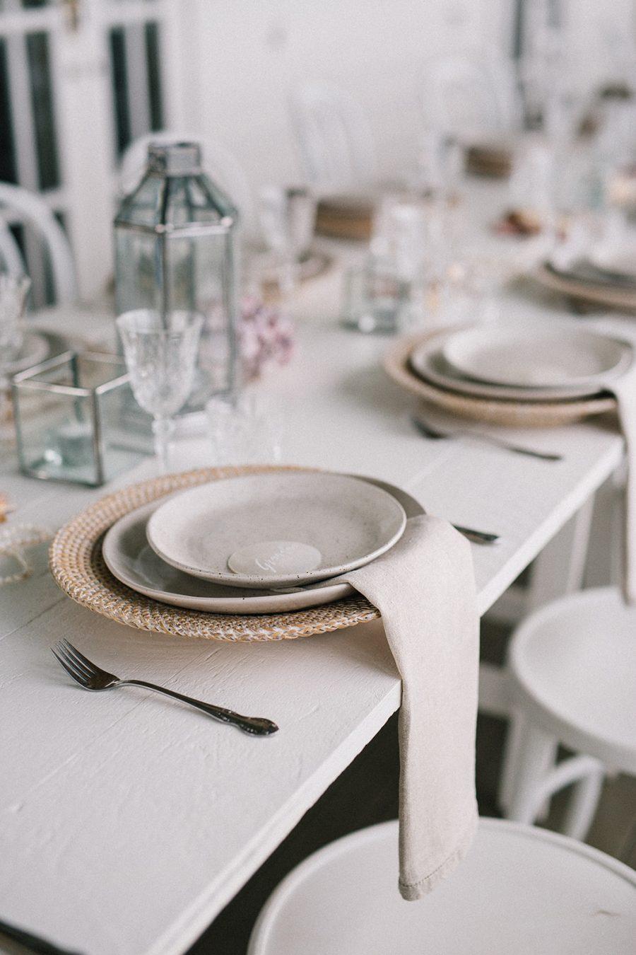 Table decoration / Elope / Micro Wedding