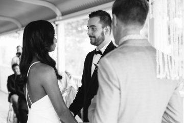 Bride walking down isle / Micro Wedding / Elope