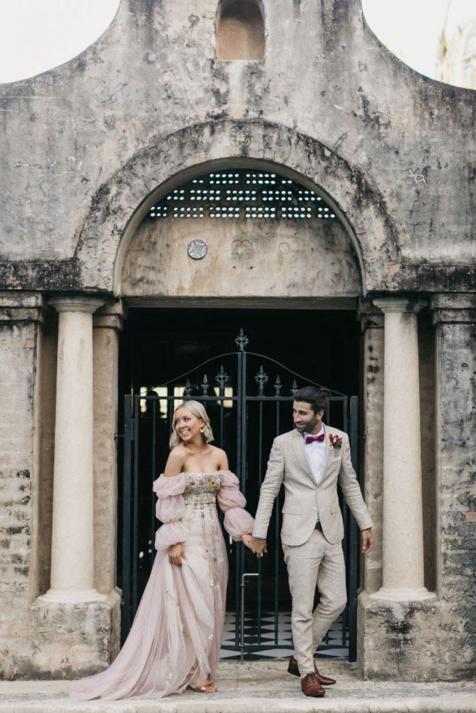 Bride and groom / Wedding photography / Byron Bay / Villa Rustica