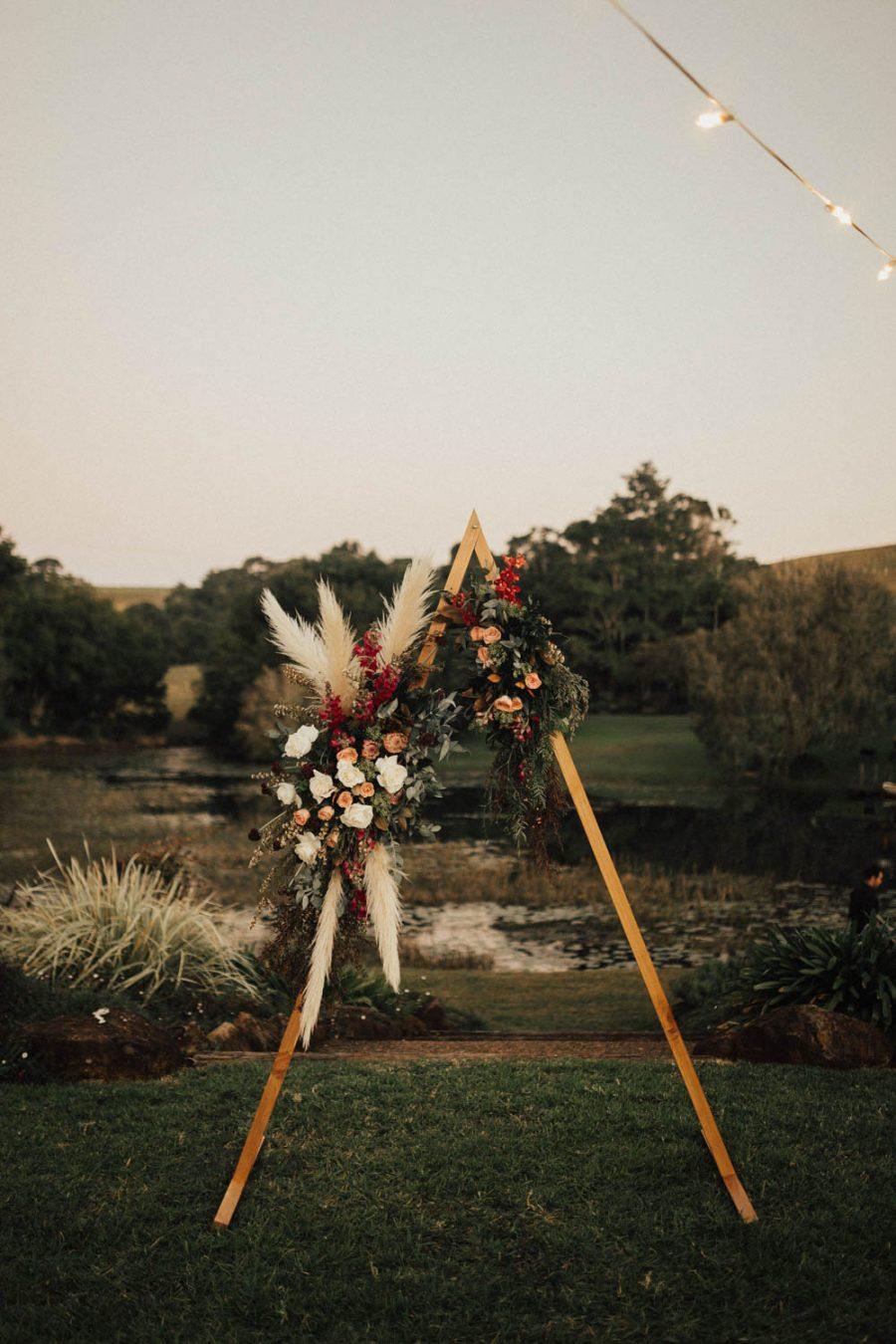 Flower alter / Elopement photography