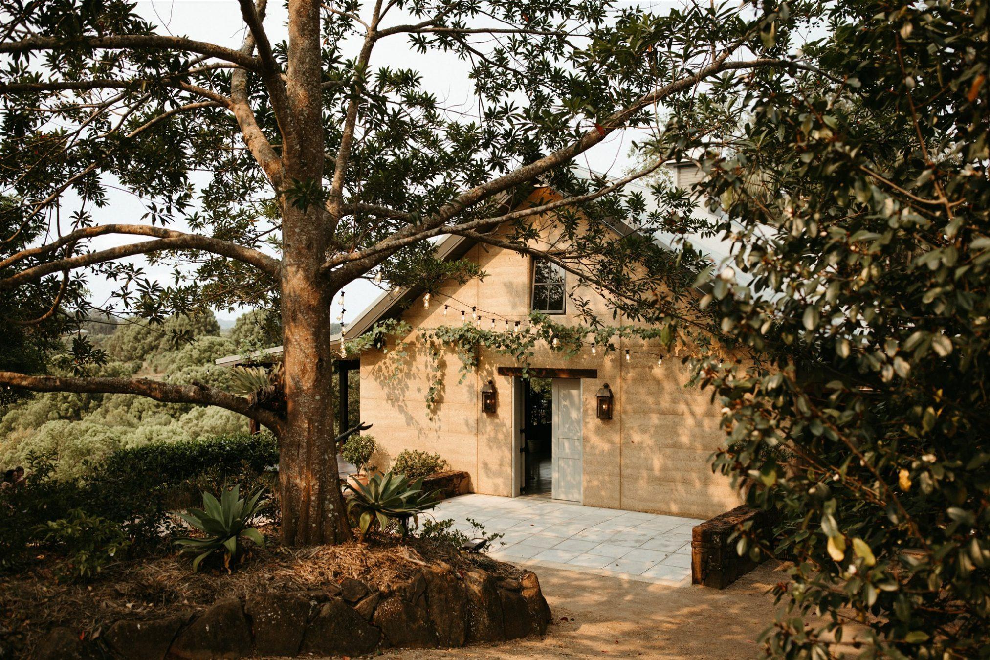 Byron chapel in hinterland