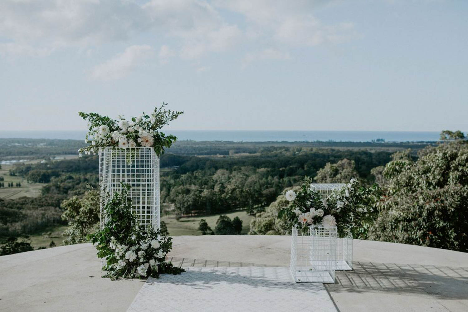 Byron Bay hinterland view - Wedding / Elopement