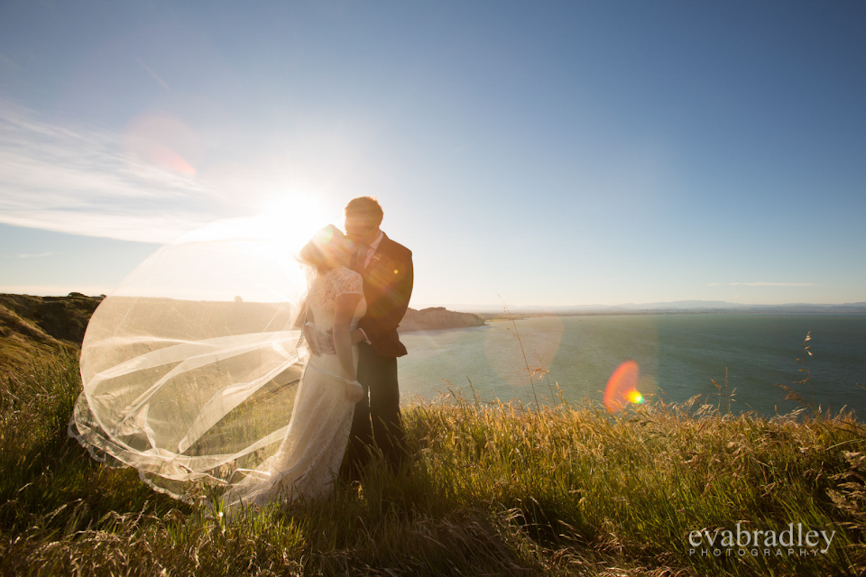 Bride and groom / wedding photography New Zealand