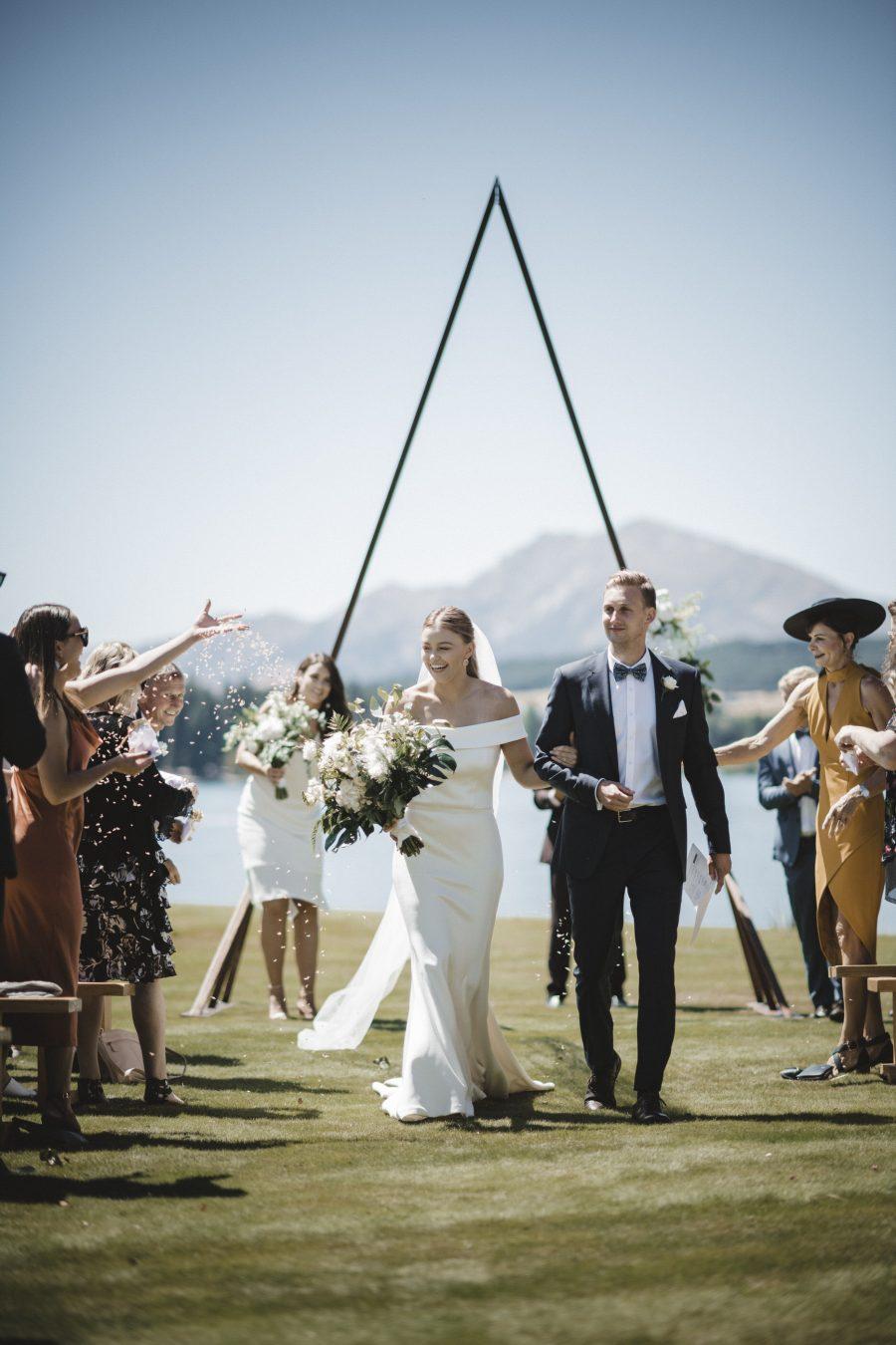 Bride and groom - Wedding photography Edgewater - New Zealand
