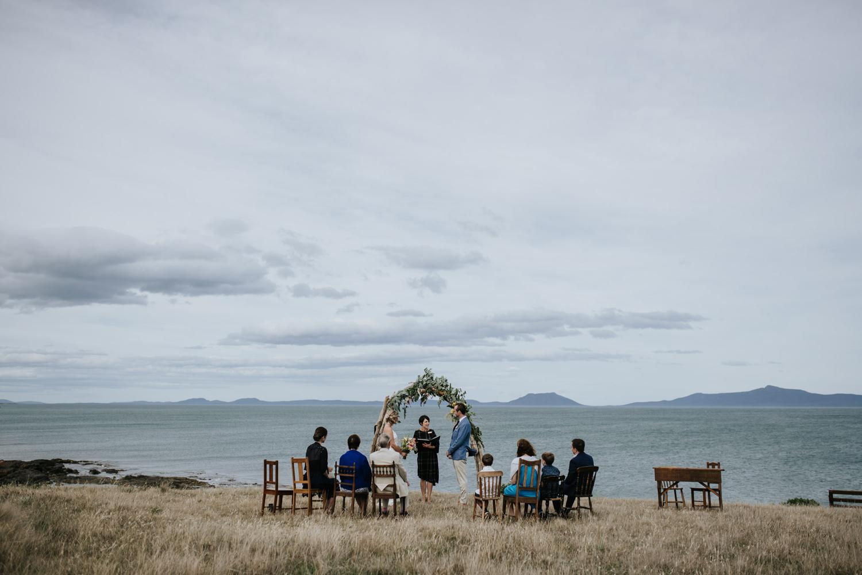 Bride and groom / wedding photography /Thalia Haven - Tasmania