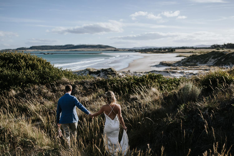 Bride and groom / wedding photography / Thalia Haven - Tasmania